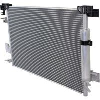 clean the car air conditioning condenser
